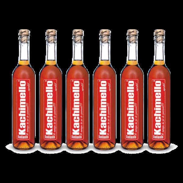 Foto de Caixa Kachimello com 6 garrafas  de 500ml