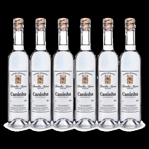 Foto de Caixa Cachaça Caninha c/ 6 garrafas de 500ml