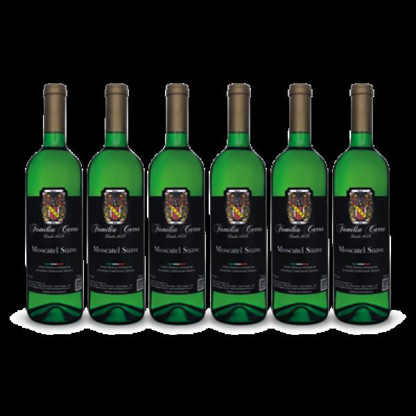 Foto de Caixa Vinho Moscatel Suave c/ 6 garrafas 750ml