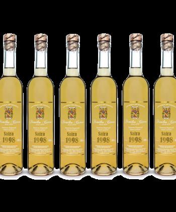 Caixa Cachaça Envelhecida Safra 1998 c/ 6 garrafas de 500ml