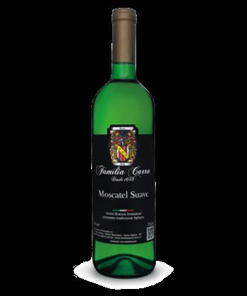 Vinho Moscatel Suave - Garrafa 750ml
