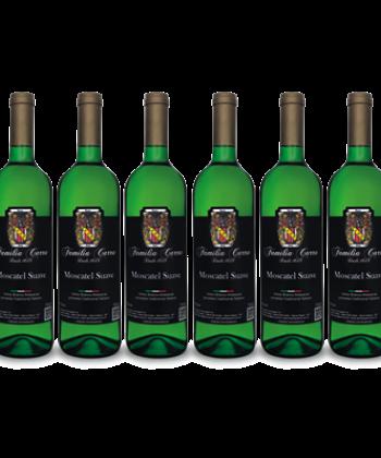 Caixa Vinho Moscatel Suave c/ 6 garrafas 750ml