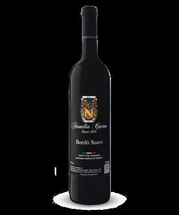 Vinho Bordô Suave - Garrafa 750ml