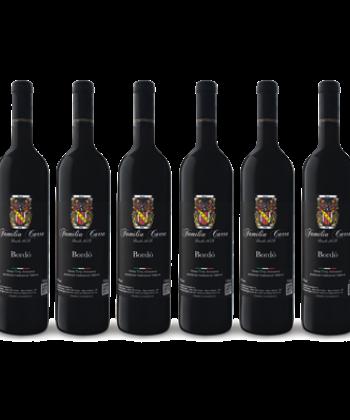 Caixa Vinho Bordô Seco  c/ 6 Garrafas de 750ml
