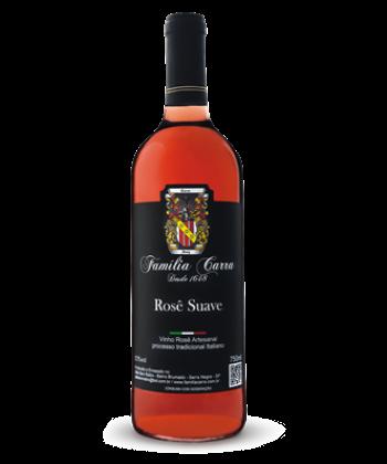 Vinho Rosê Suave - Garrafa 750ml